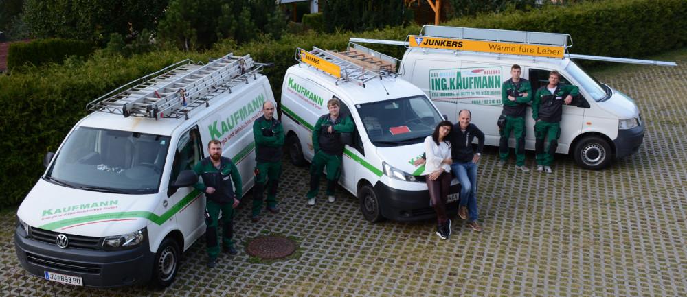 Team Kaufmann Energie- und Gebäudetechnik